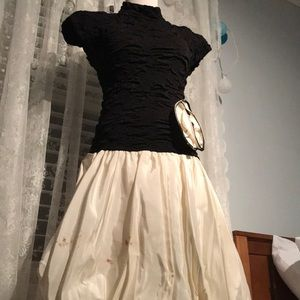 Vintage 80s Prom Homecoming Ball Gown Halloween
